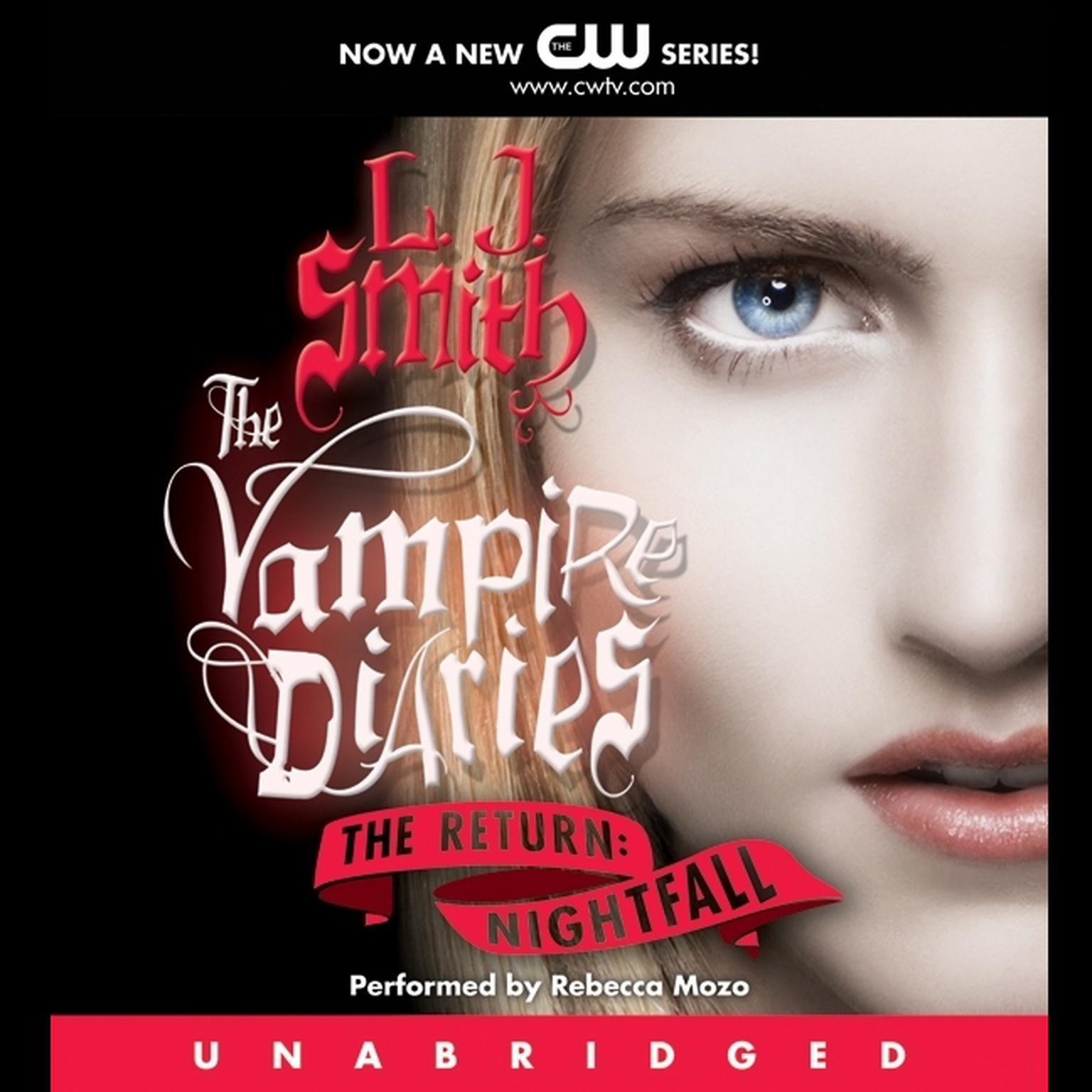 Printable The Vampire Diaries: The Return: Nightfall Audiobook Cover Art