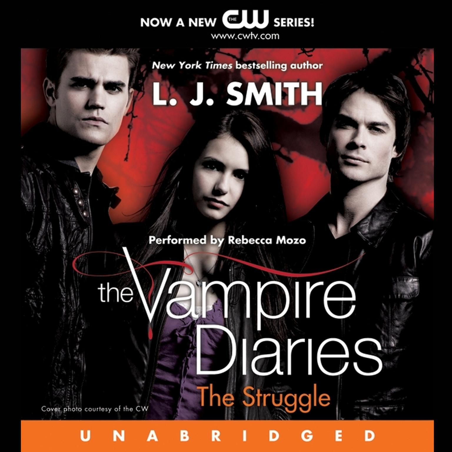 Printable The Vampire Diaries: The Struggle Audiobook Cover Art