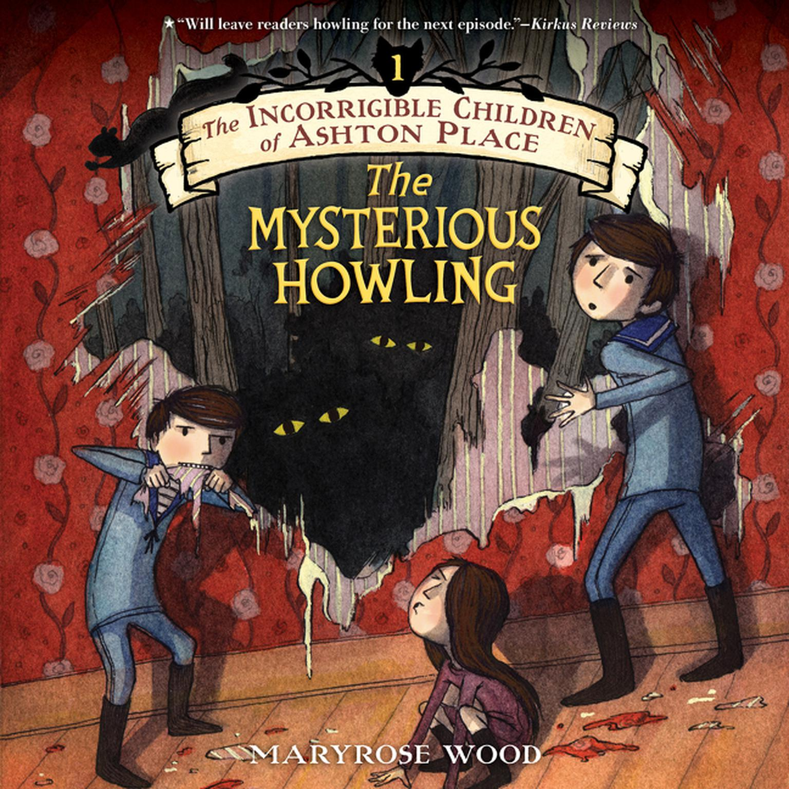 Printable The Mysterious Howling Audiobook Cover Art