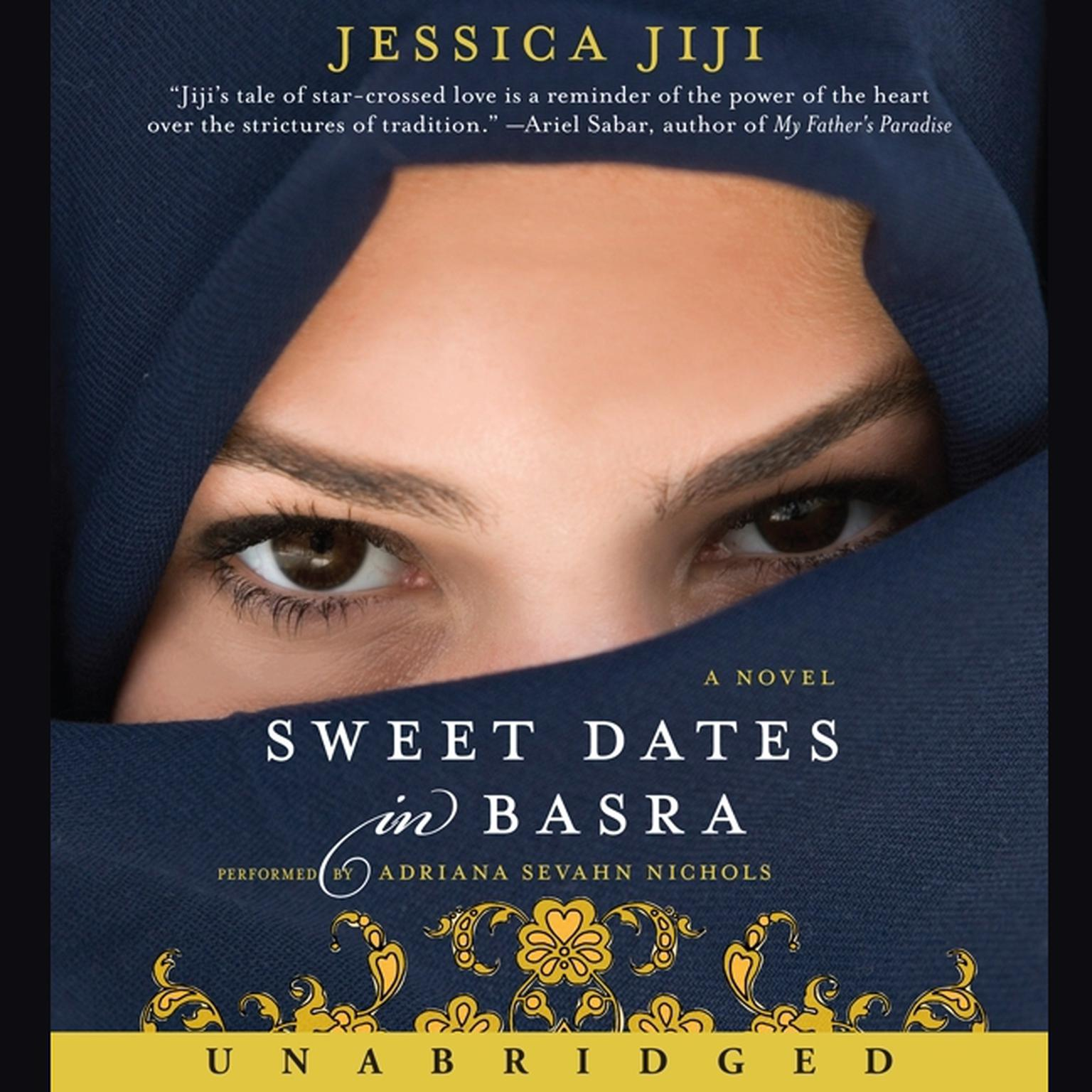 Printable Sweet Dates in Basra: A Novel Audiobook Cover Art