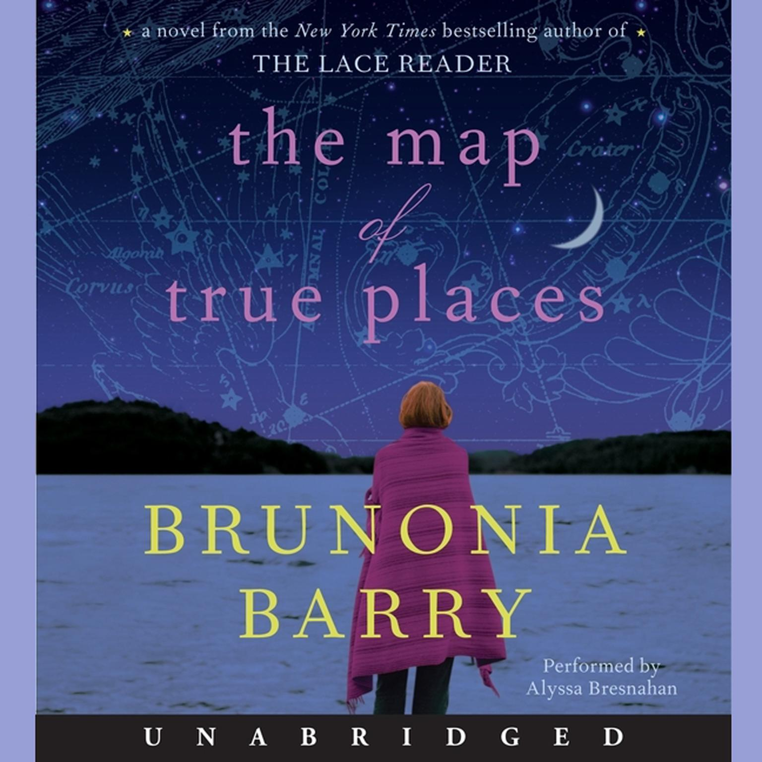 Printable The Map of True Places Audiobook Cover Art
