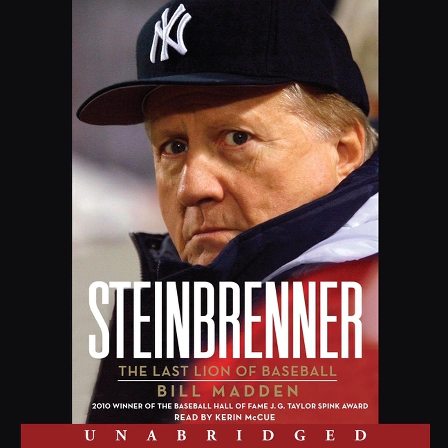 Printable Steinbrenner: The Last Lion of Baseball Audiobook Cover Art