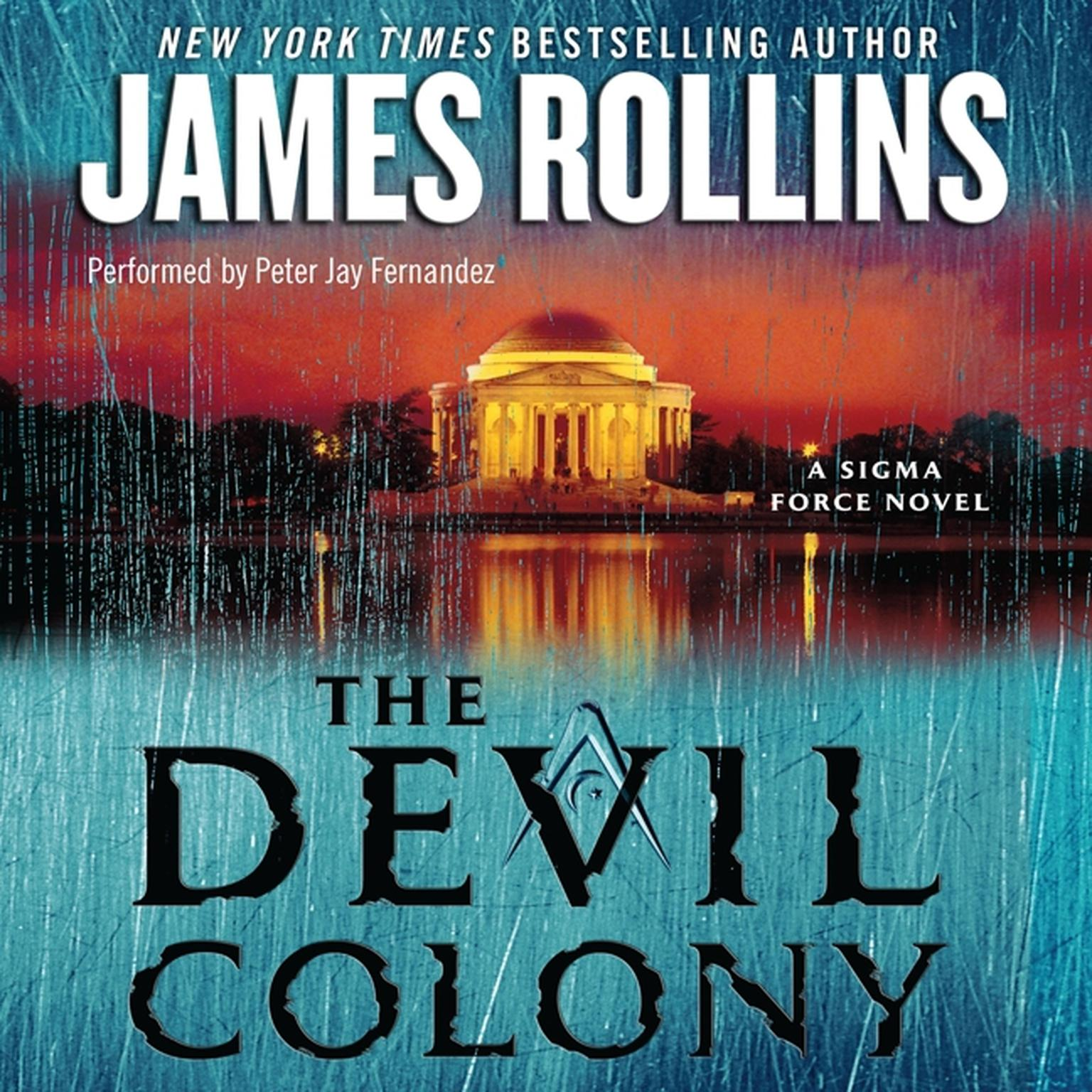Printable The Devil Colony: A Sigma Force Novel Audiobook Cover Art