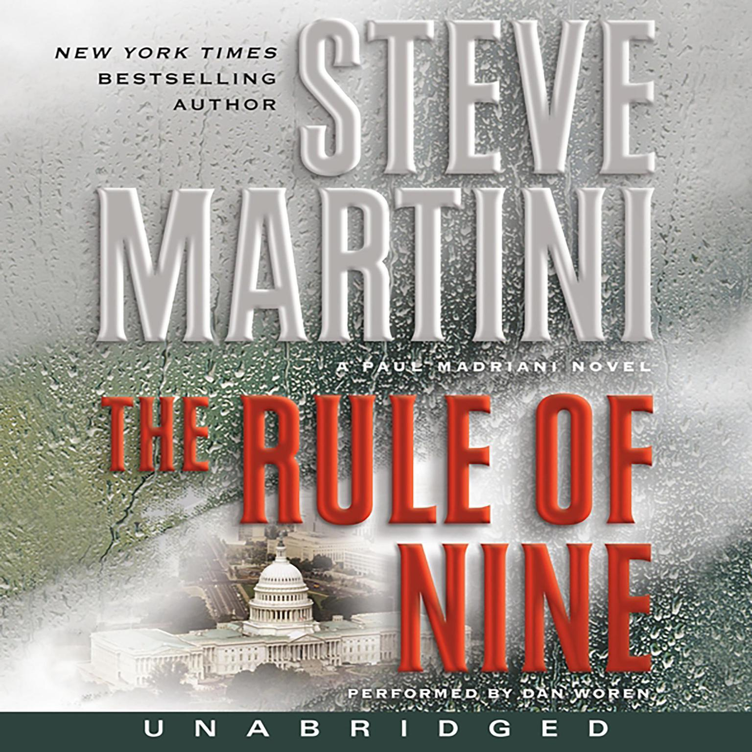 Printable The Rule of Nine: A Paul Madriani Novel Audiobook Cover Art