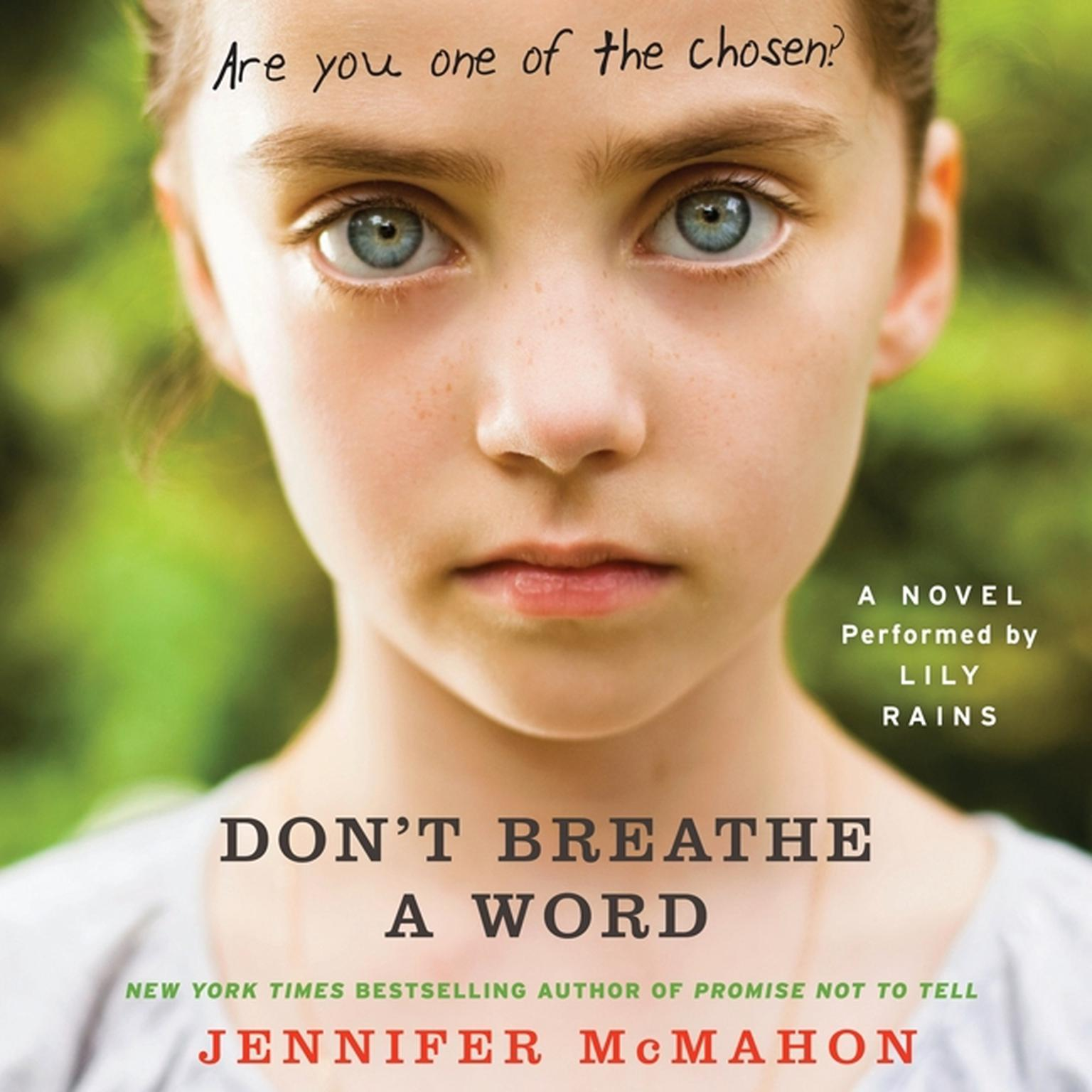 Printable Don't Breathe A Word: A Novel Audiobook Cover Art