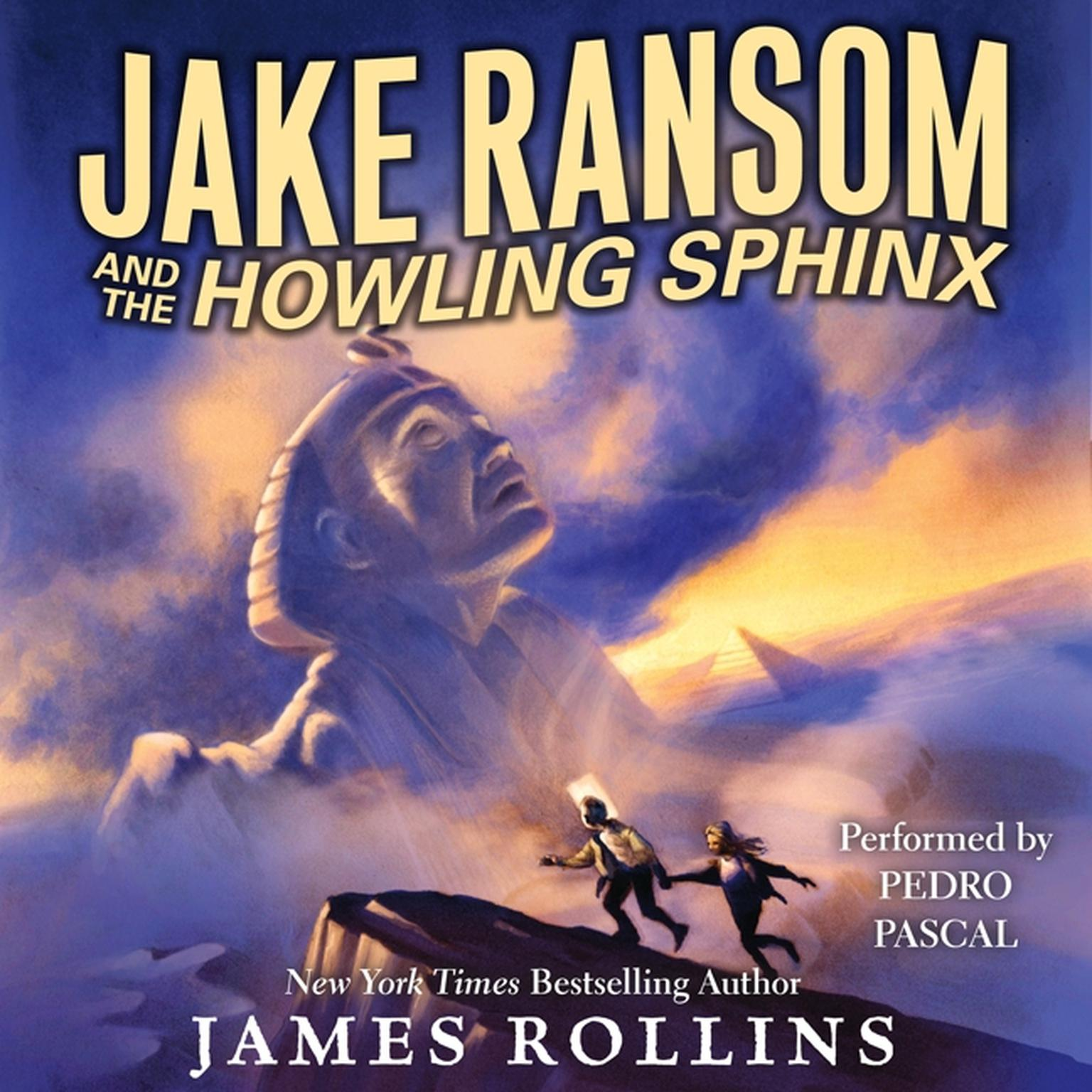 Printable Jake Ransom and the Howling Sphinx Audiobook Cover Art