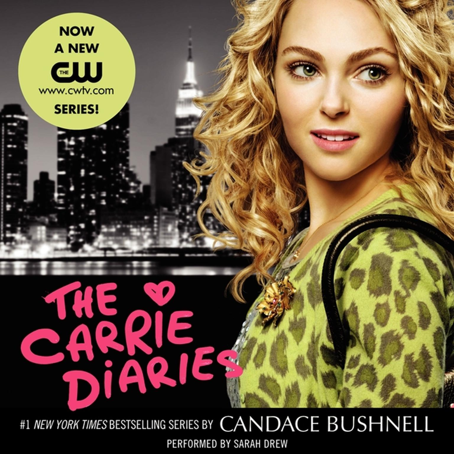 Printable The Carrie Diaries Audiobook Cover Art
