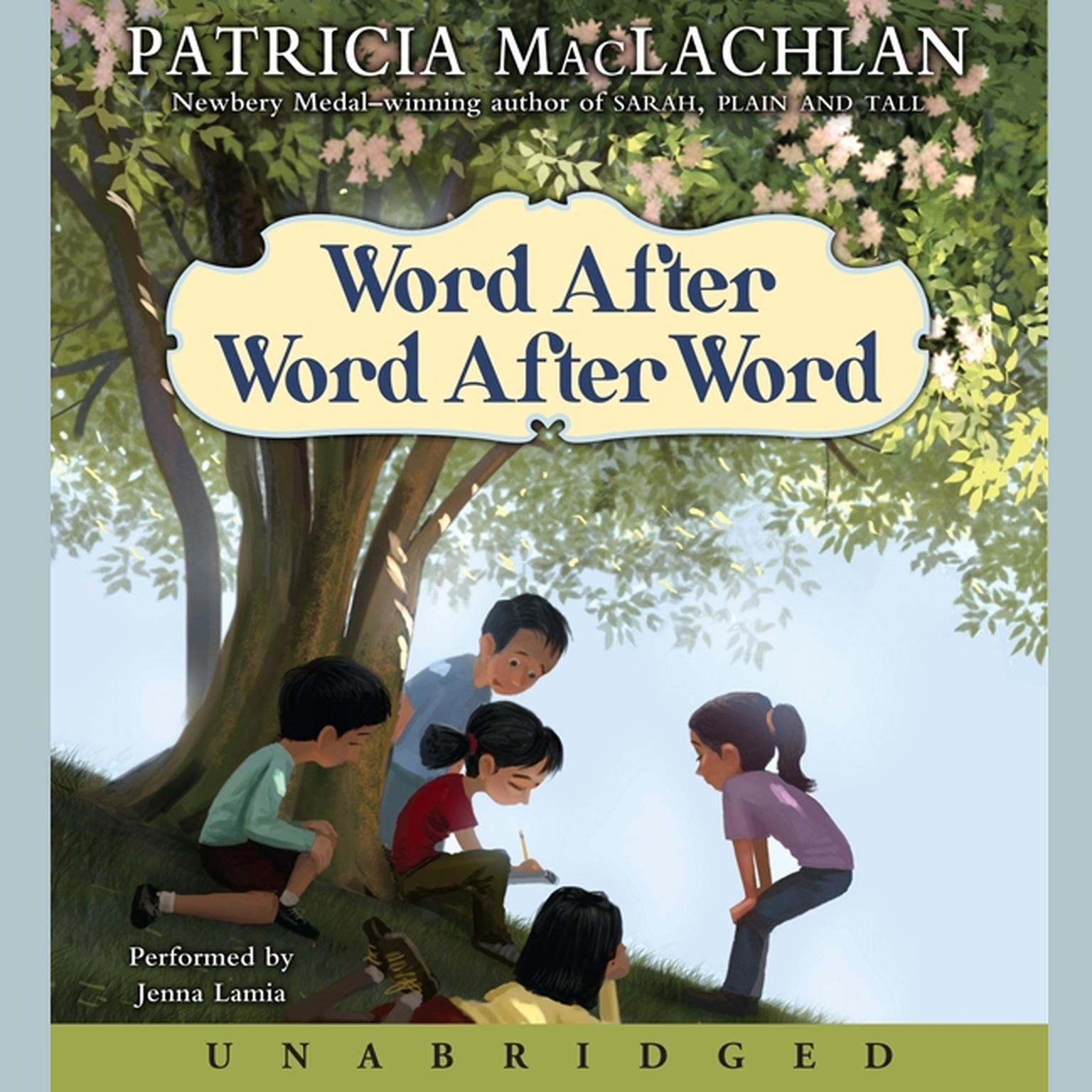 Printable Word After Word After Word Audiobook Cover Art