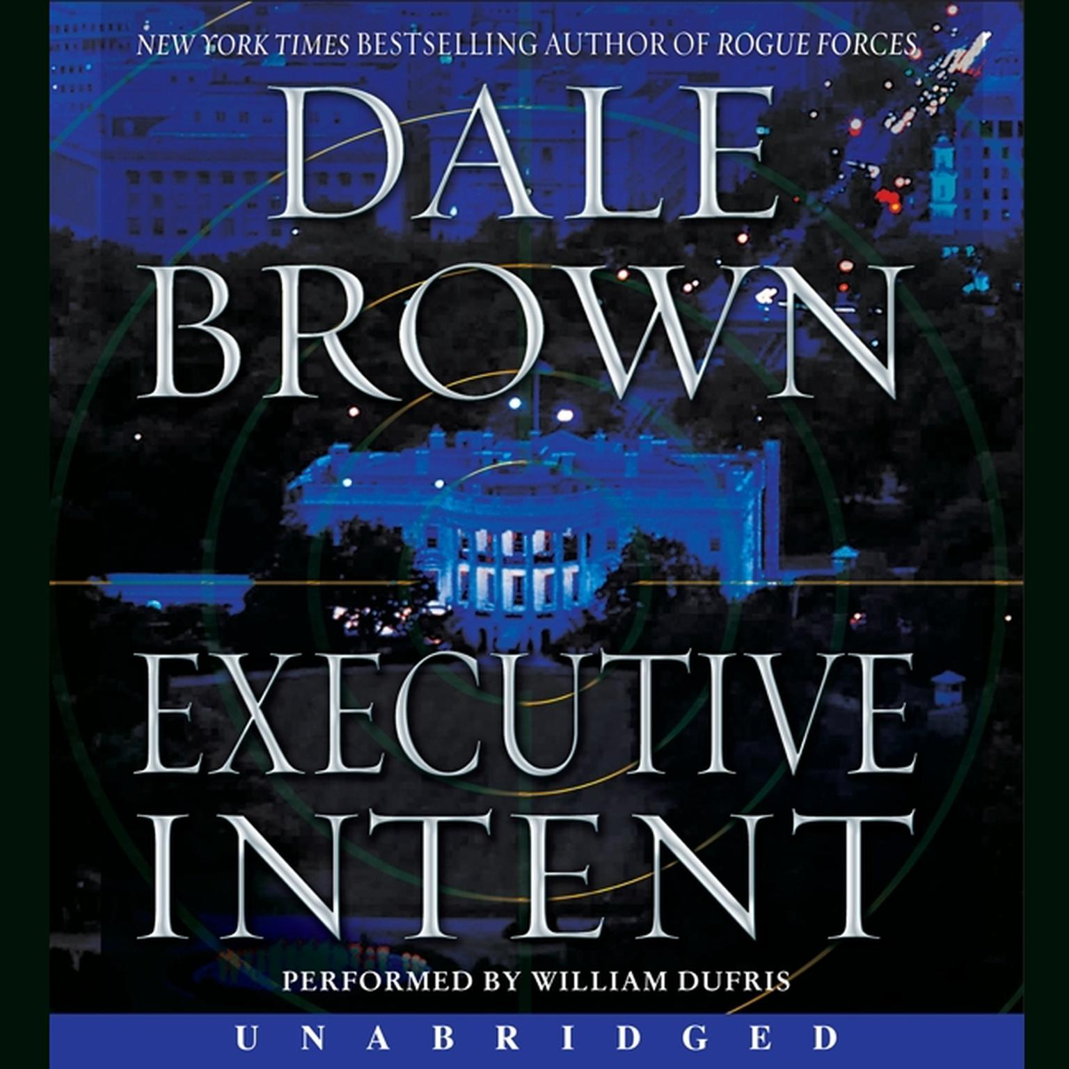 Printable Executive Intent: A Novel Audiobook Cover Art