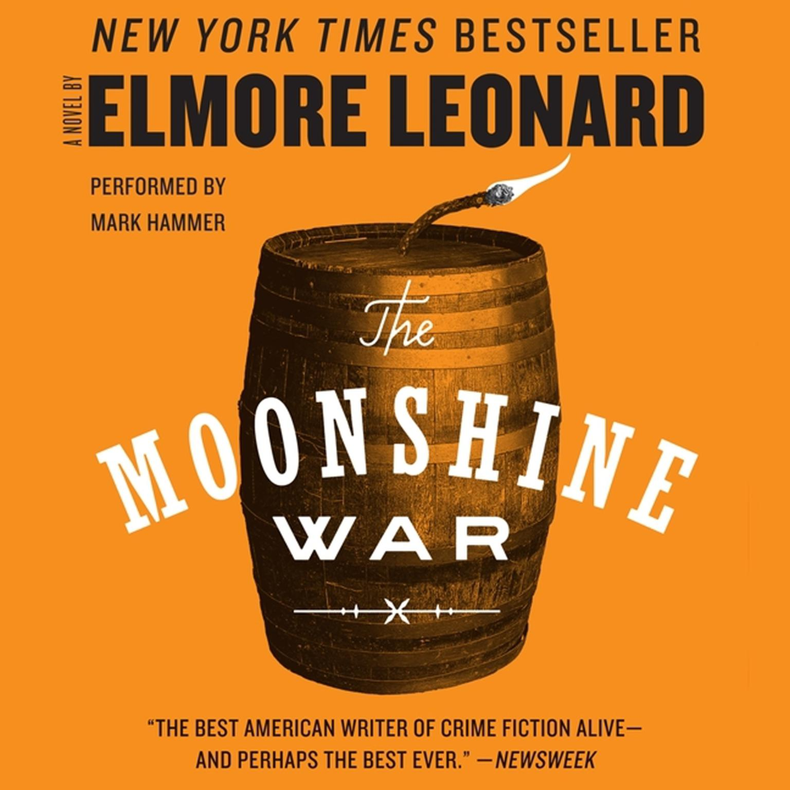 Printable The Moonshine War Audiobook Cover Art