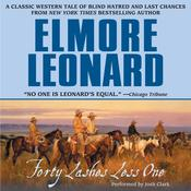 Forty Lashes Less One Audiobook, by Elmore Leonard