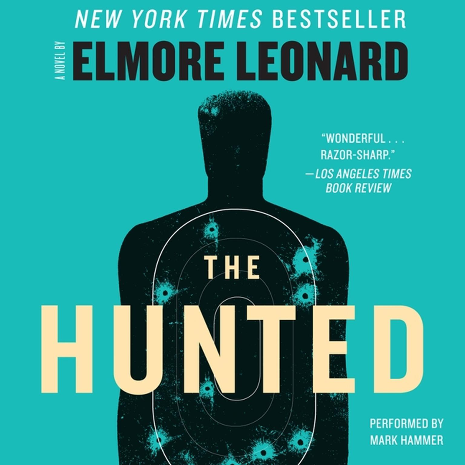 Printable The Hunted: A Novel Audiobook Cover Art