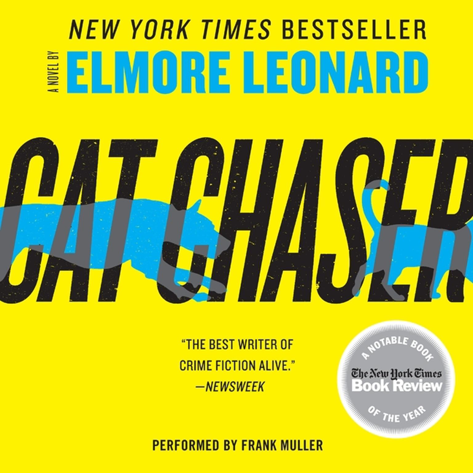 Printable Cat Chaser Audiobook Cover Art