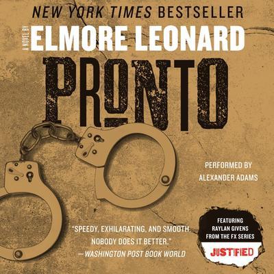 Pronto Audiobook, by Elmore Leonard