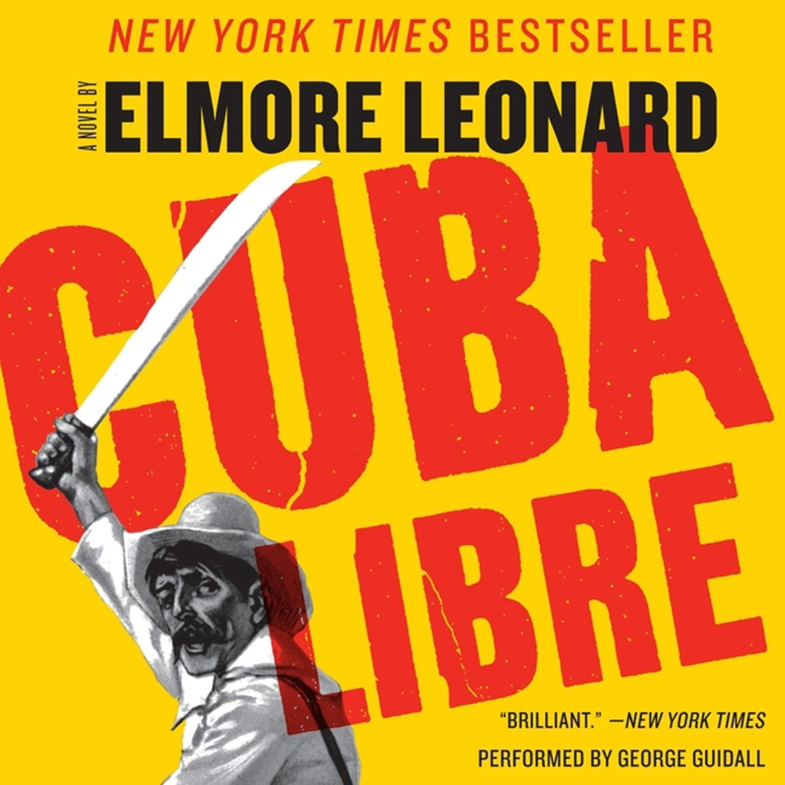 Printable Cuba Libre Audiobook Cover Art
