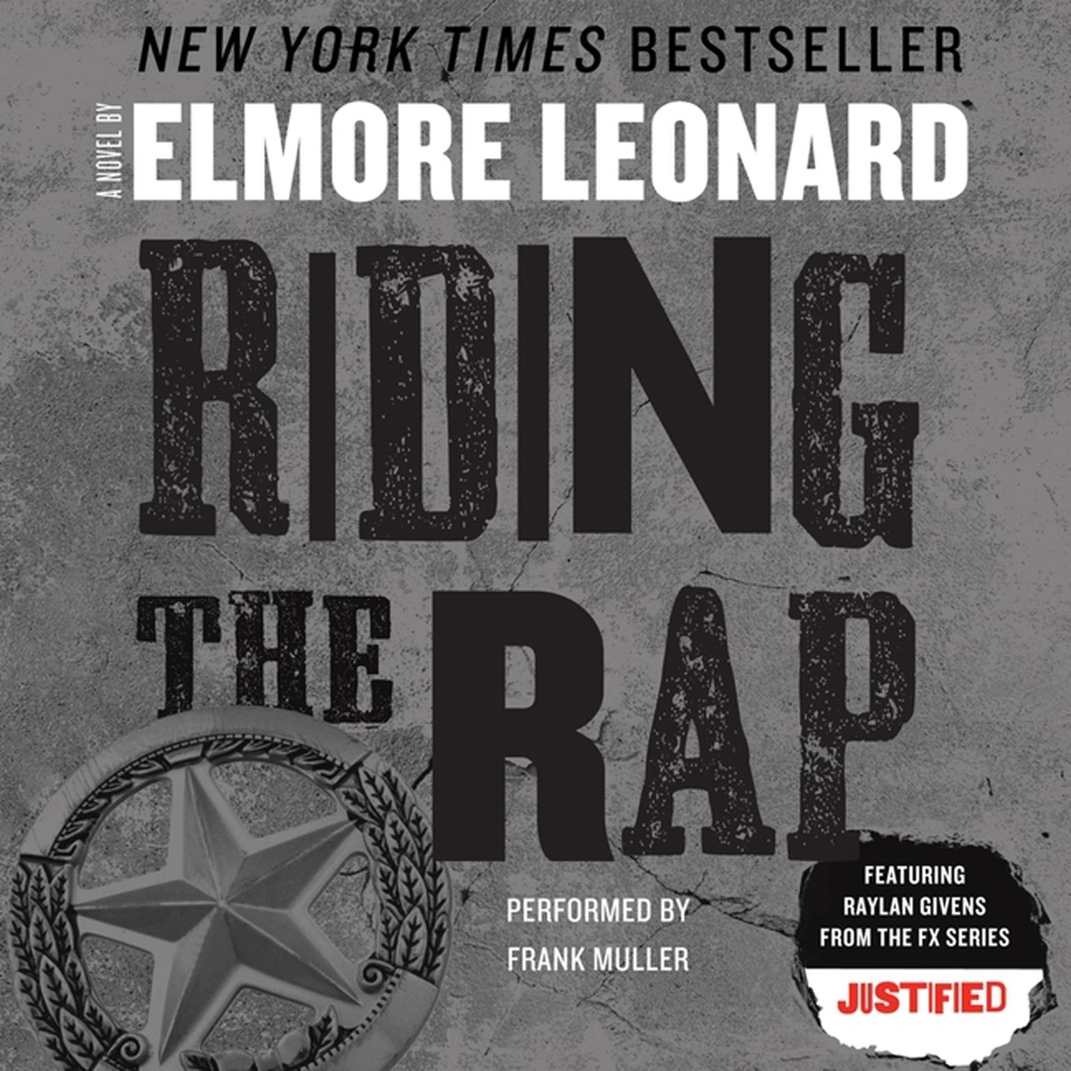 Printable Riding the Rap Audiobook Cover Art