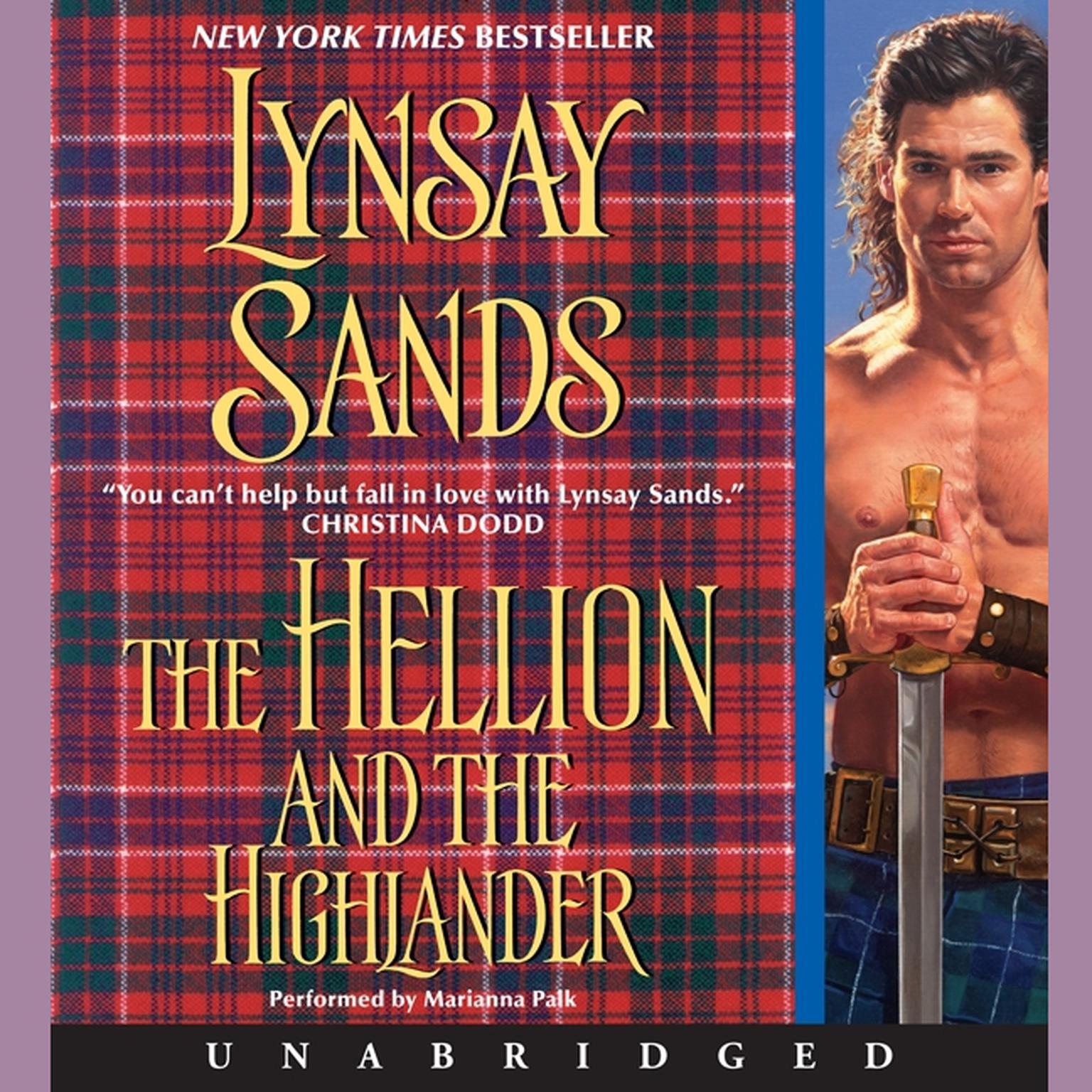 Printable The Hellion and the Highlander Audiobook Cover Art