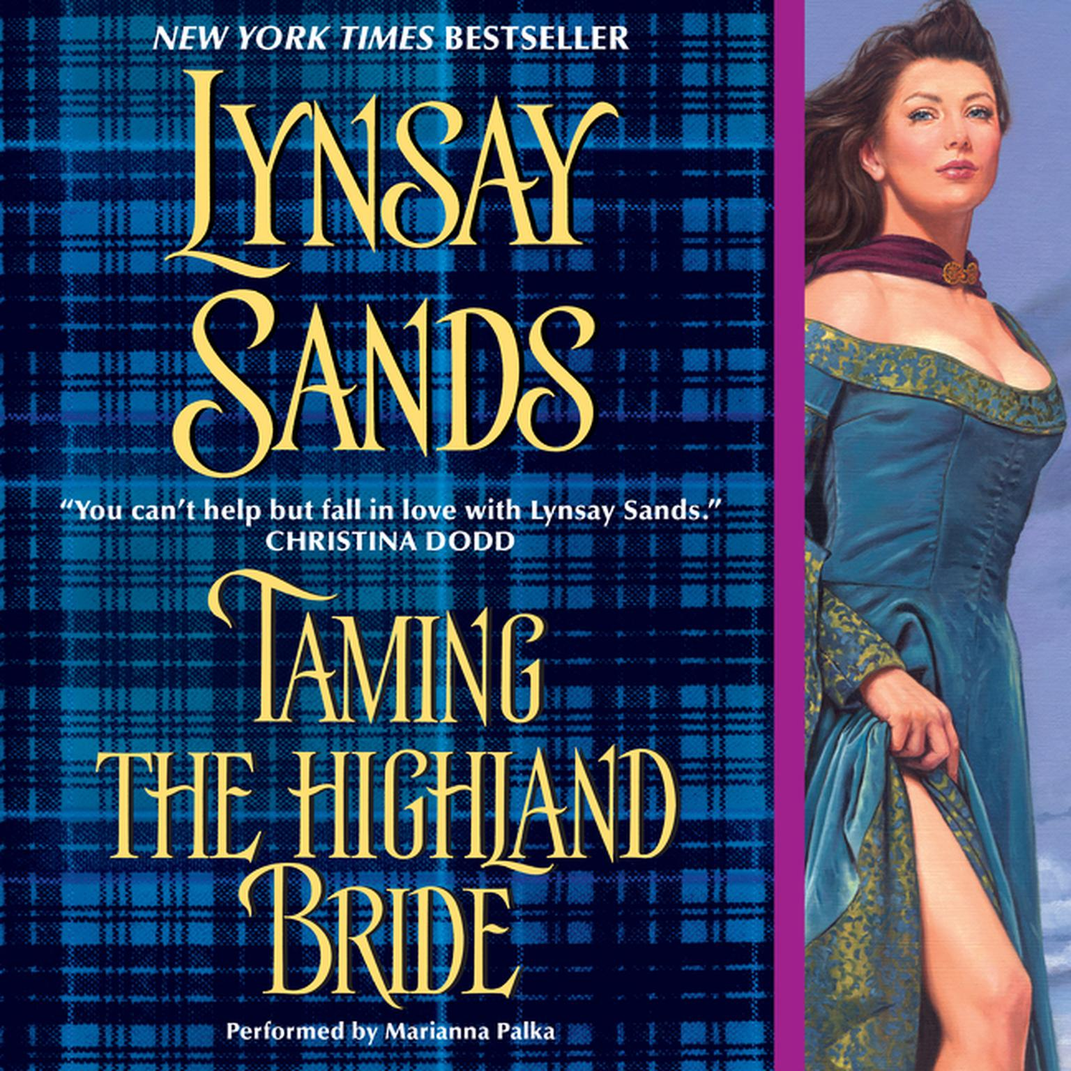 Printable Taming the Highland Bride Audiobook Cover Art