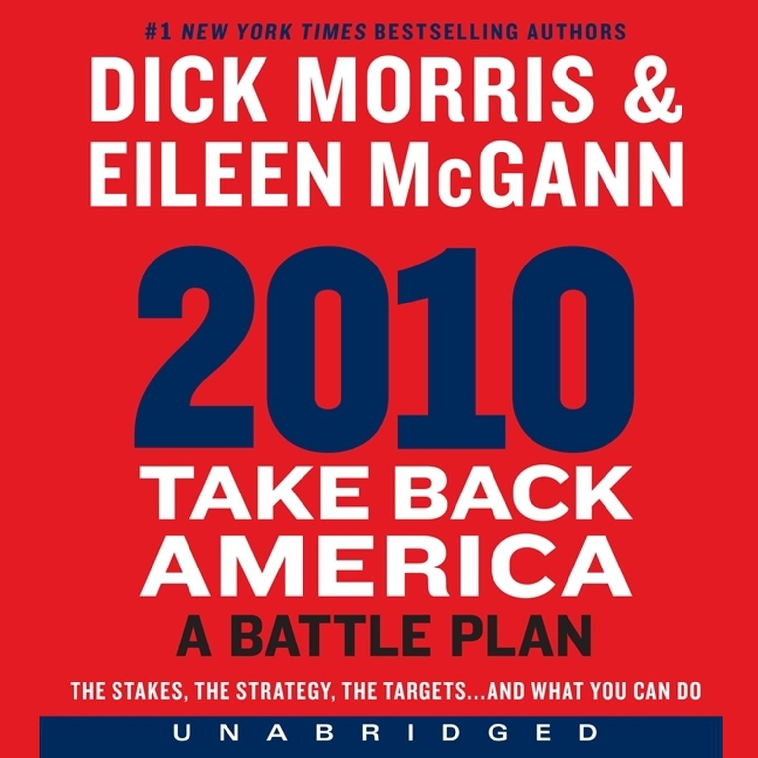 Printable 2010: Take Back America: A Battle Plan Audiobook Cover Art