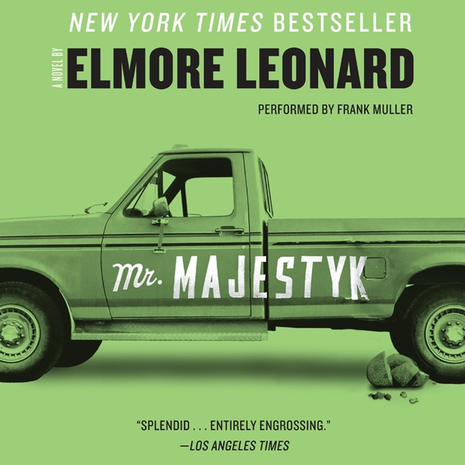 Printable Mr. Majestyk Audiobook Cover Art