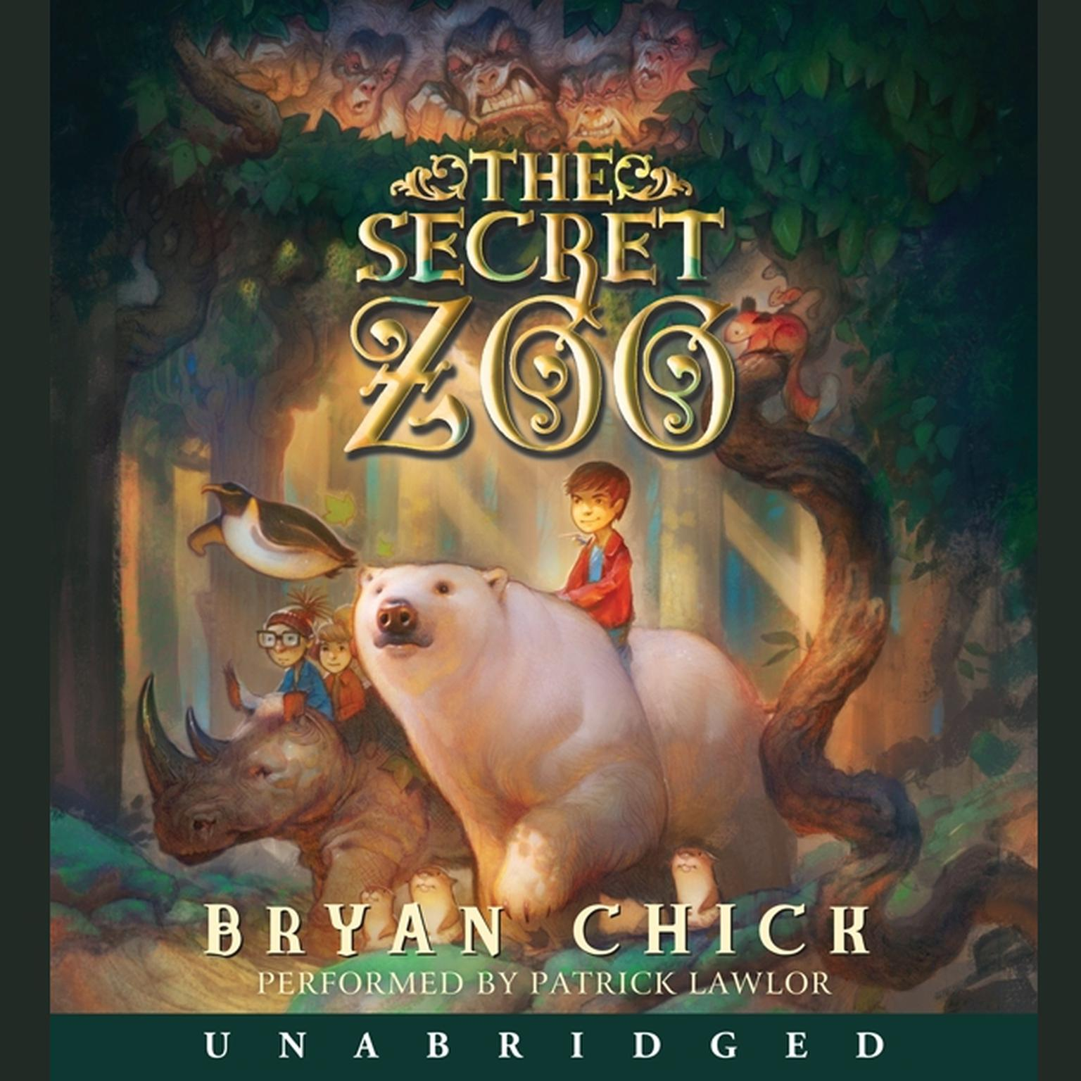 Printable The Secret Zoo Audiobook Cover Art