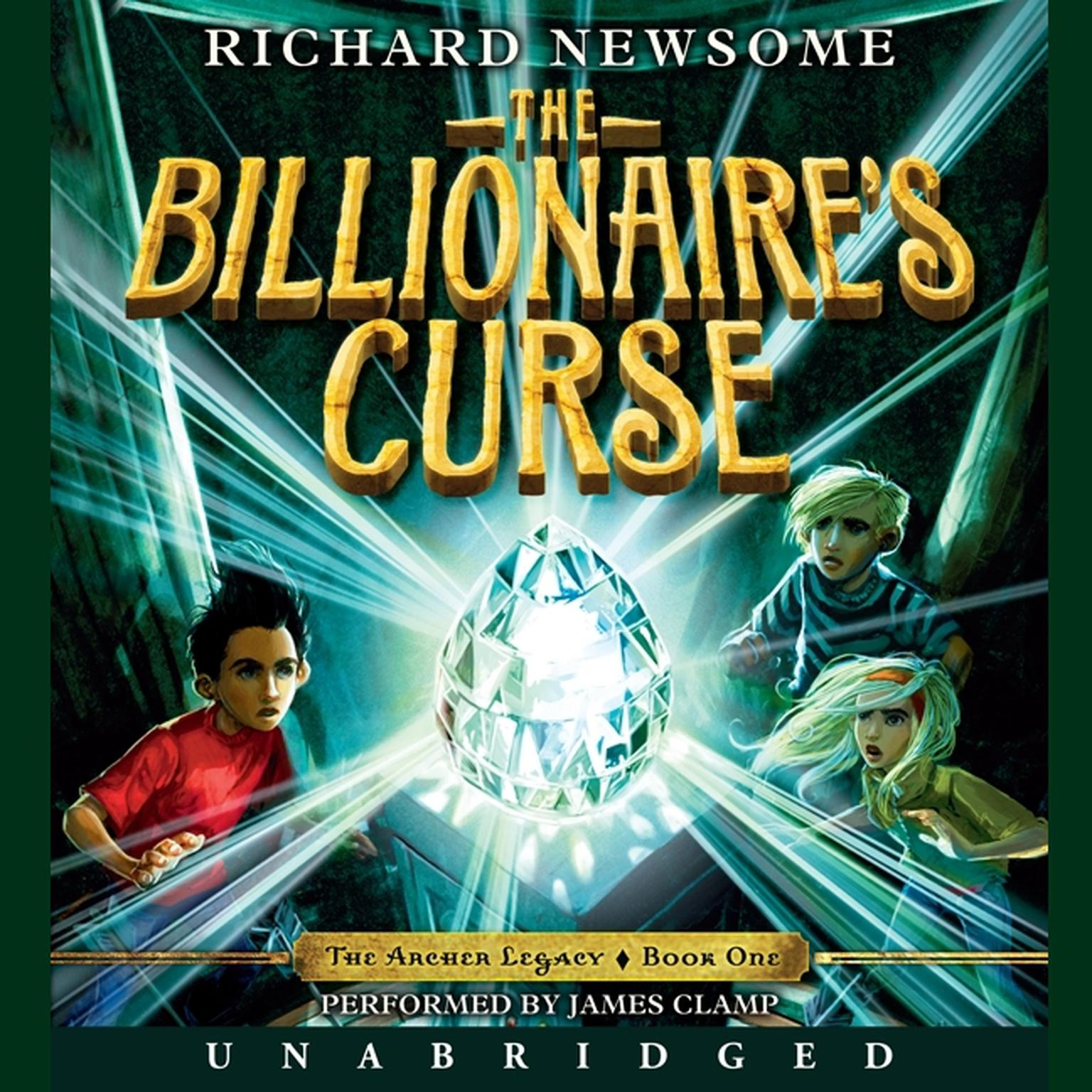 Printable The Billionaire's Curse Audiobook Cover Art