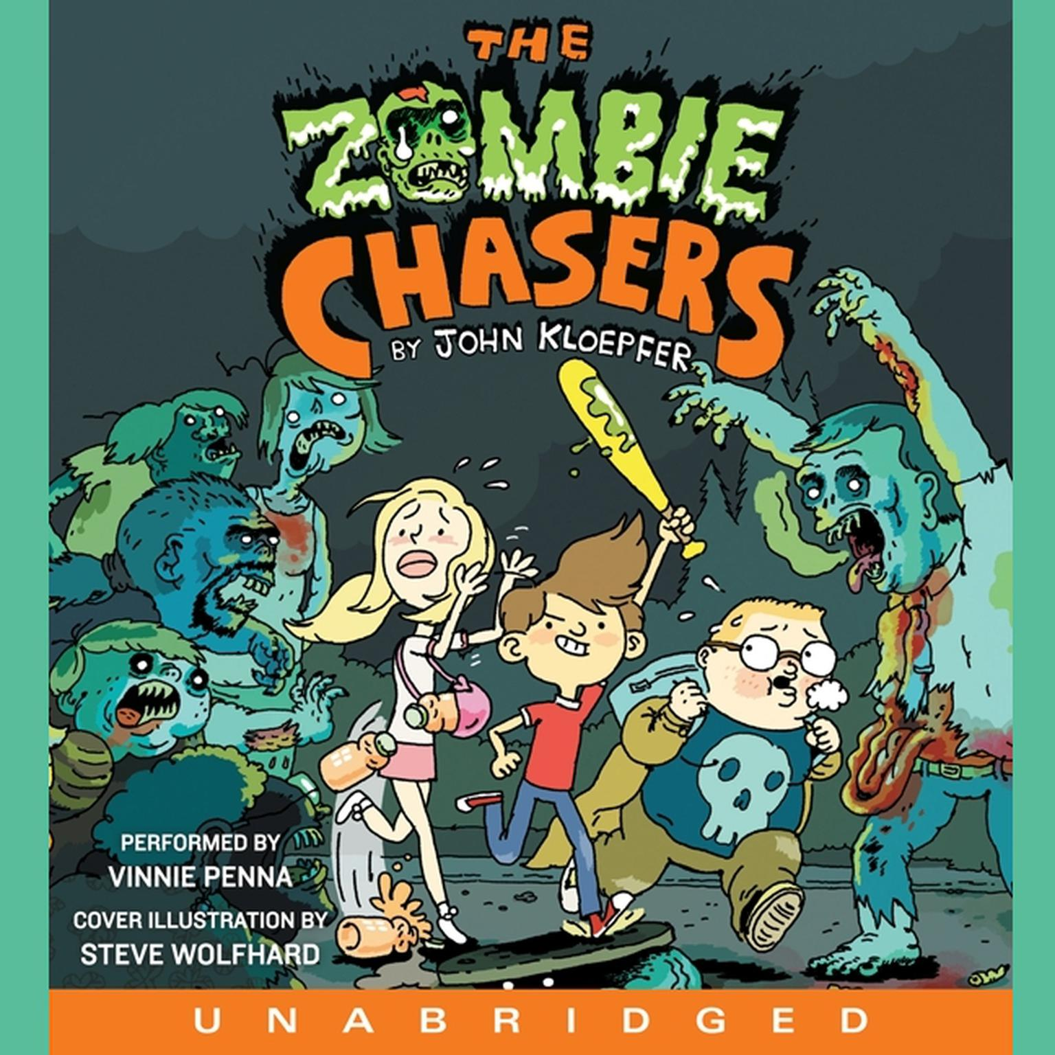 Printable The Zombie Chasers Audiobook Cover Art