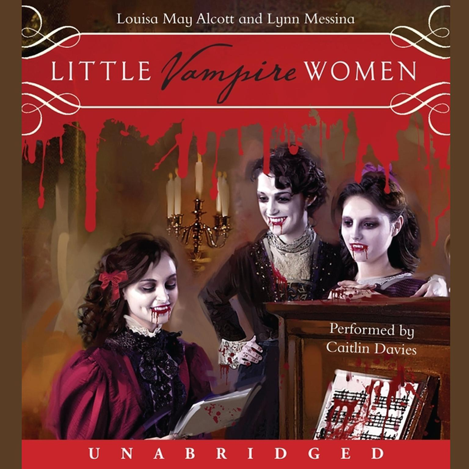 Printable Little Vampire Women Audiobook Cover Art