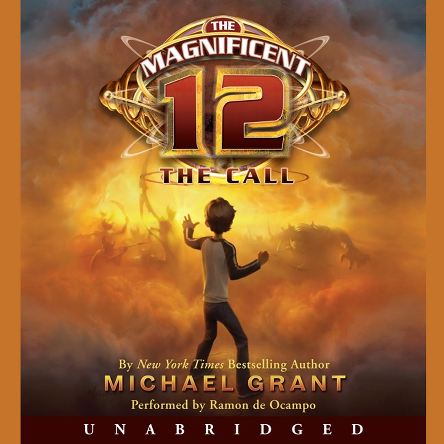 Printable The Magnificent 12: The Call Audiobook Cover Art