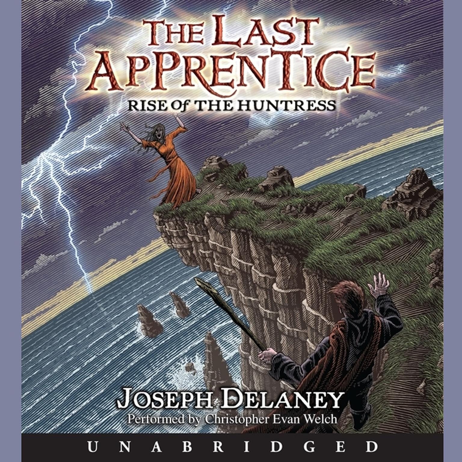 Printable The Last Apprentice: Rise of the Huntress (Book 7) Audiobook Cover Art