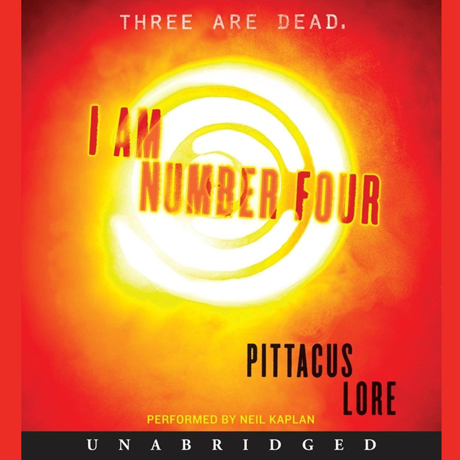 Printable I Am Number Four Audiobook Cover Art
