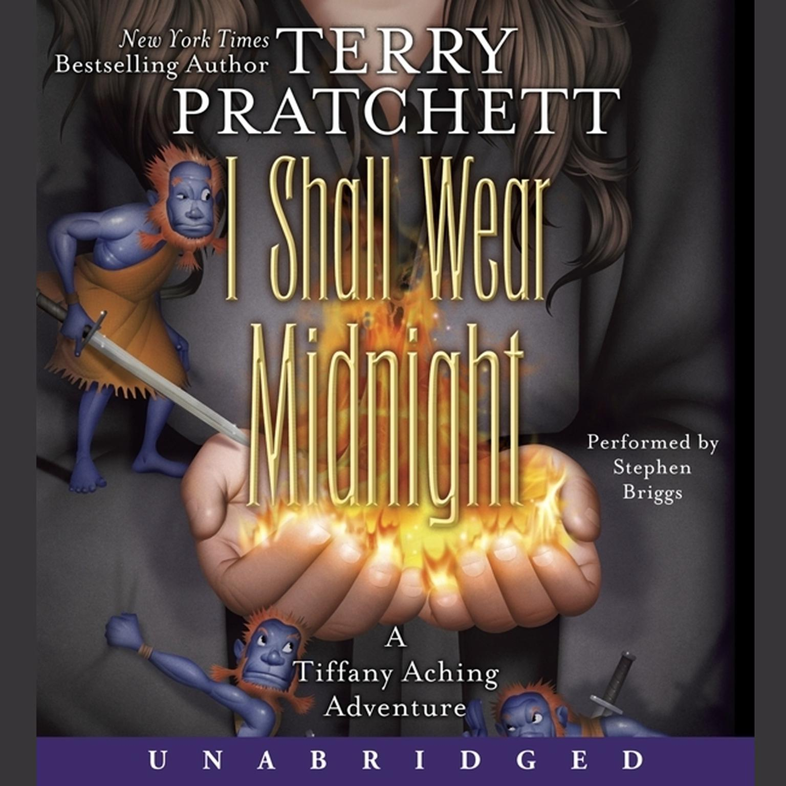 Printable I Shall Wear Midnight Audiobook Cover Art