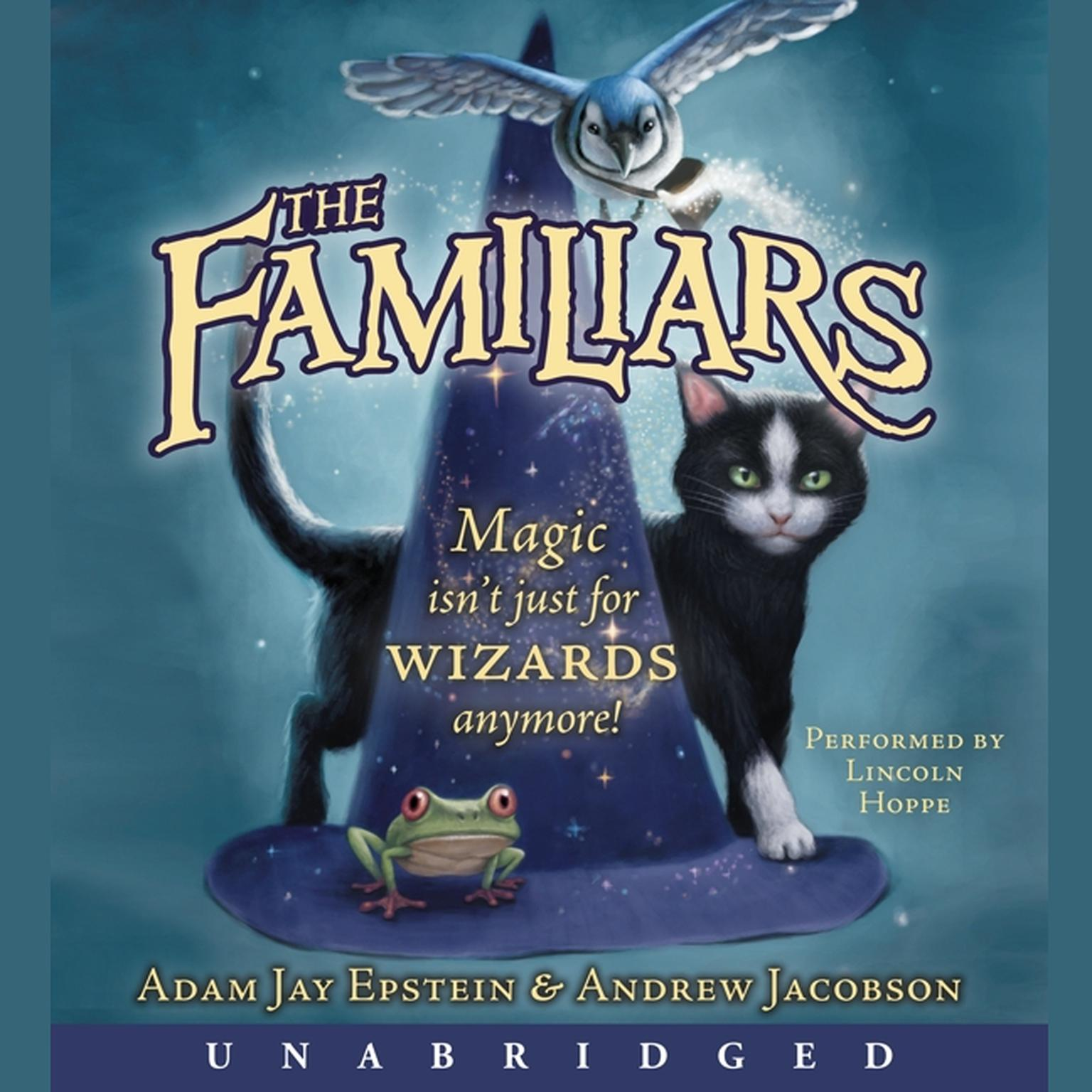Printable The Familiars Audiobook Cover Art