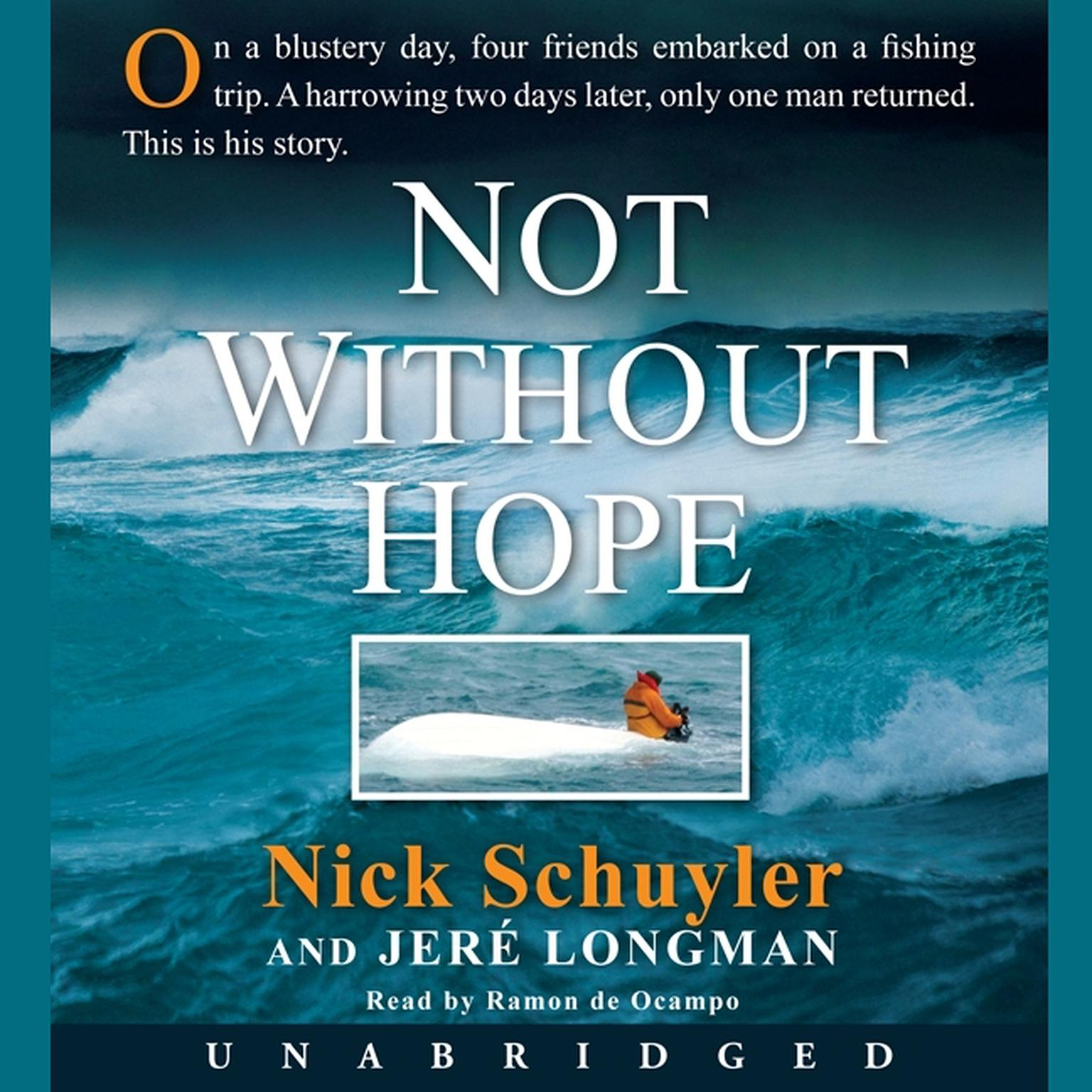 Printable Not Without Hope Audiobook Cover Art