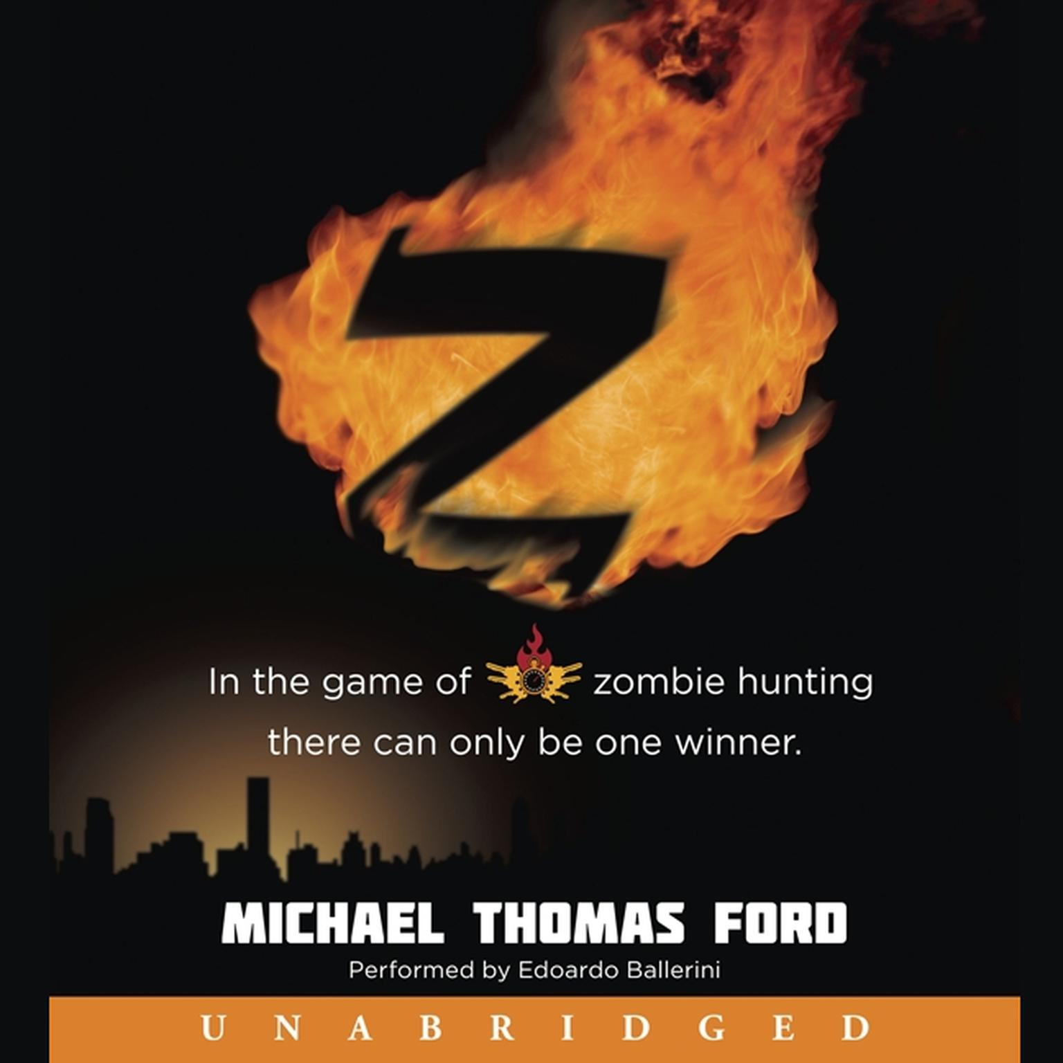 Printable Z Audiobook Cover Art