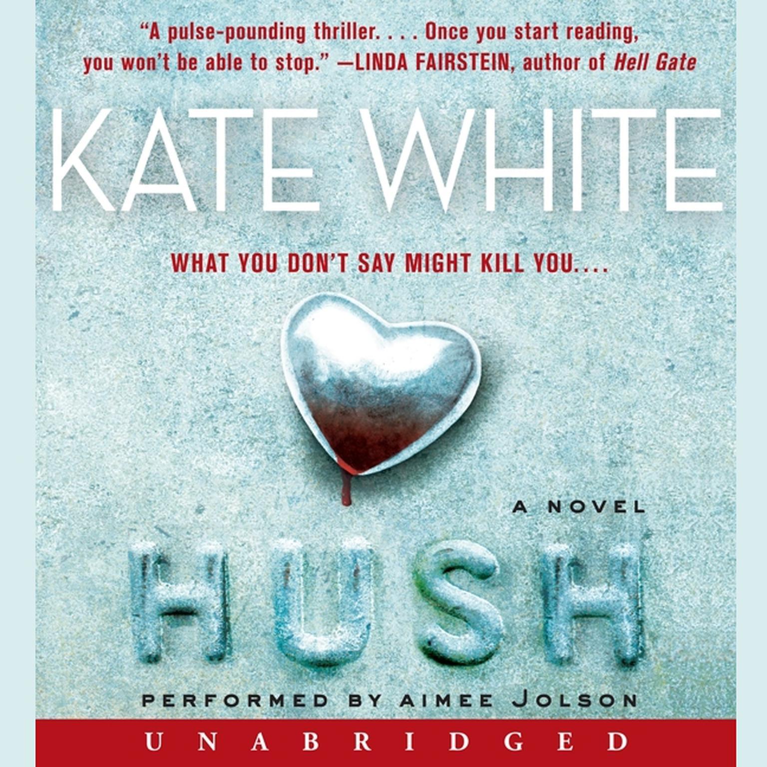 Printable Hush: A Novel Audiobook Cover Art