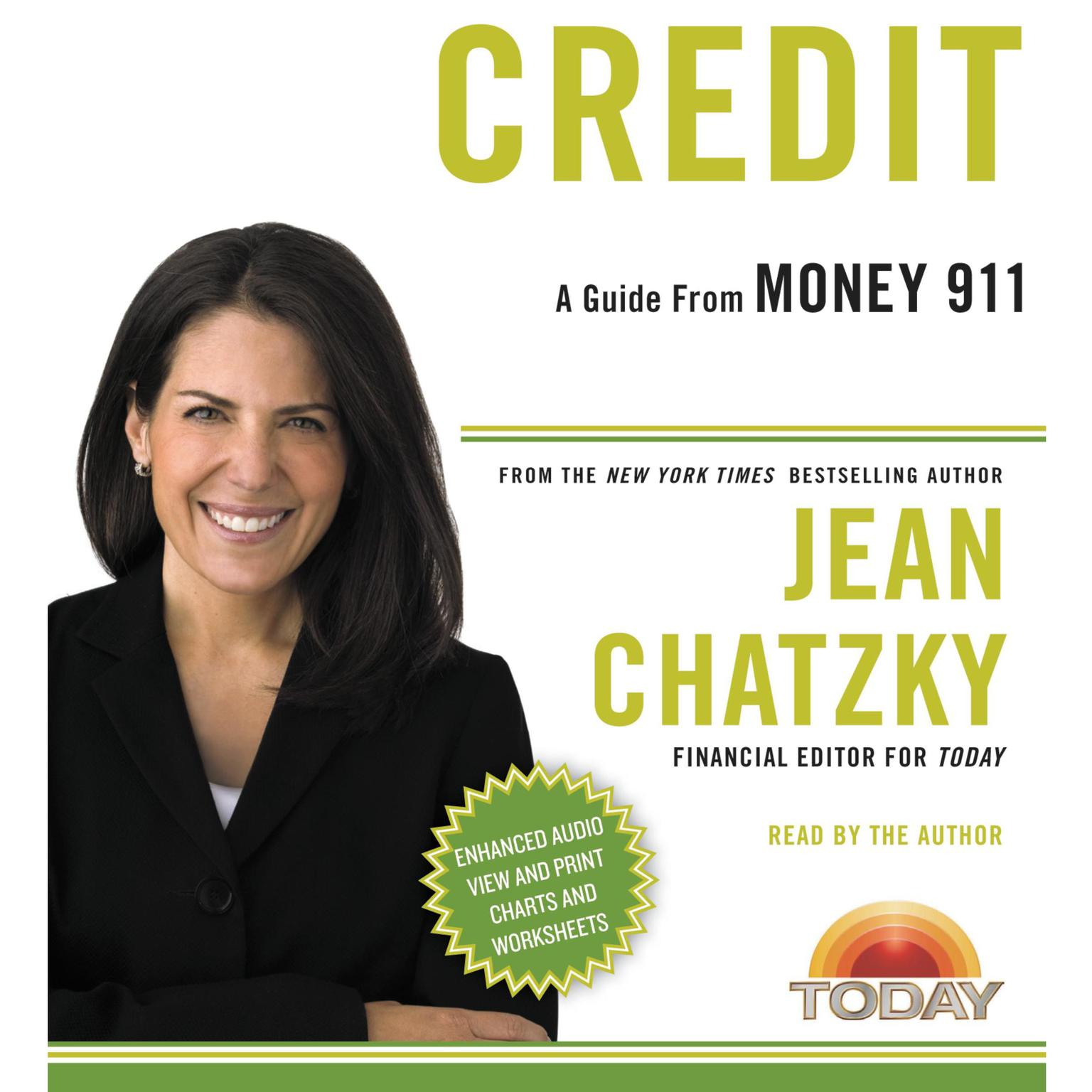 Printable Money 911: Credit Audiobook Cover Art