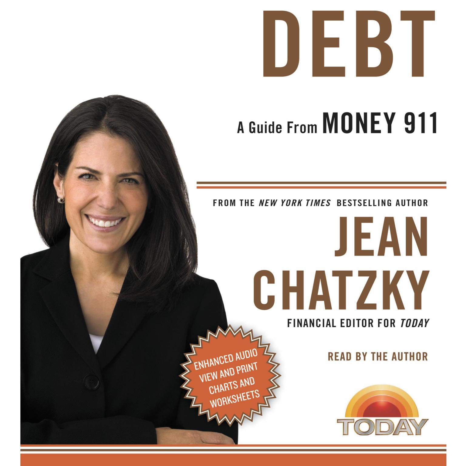 Printable Money 911: Debt Audiobook Cover Art