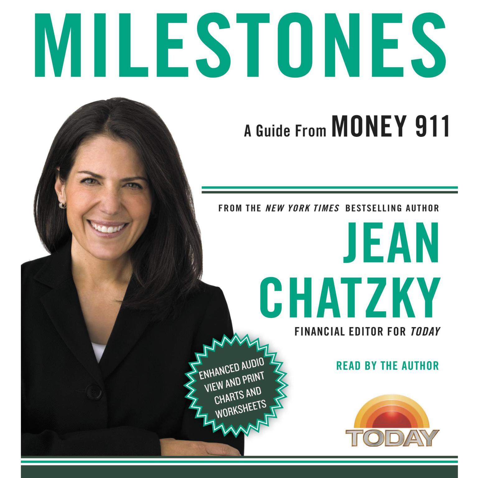 Printable Money 911: Milestones Audiobook Cover Art