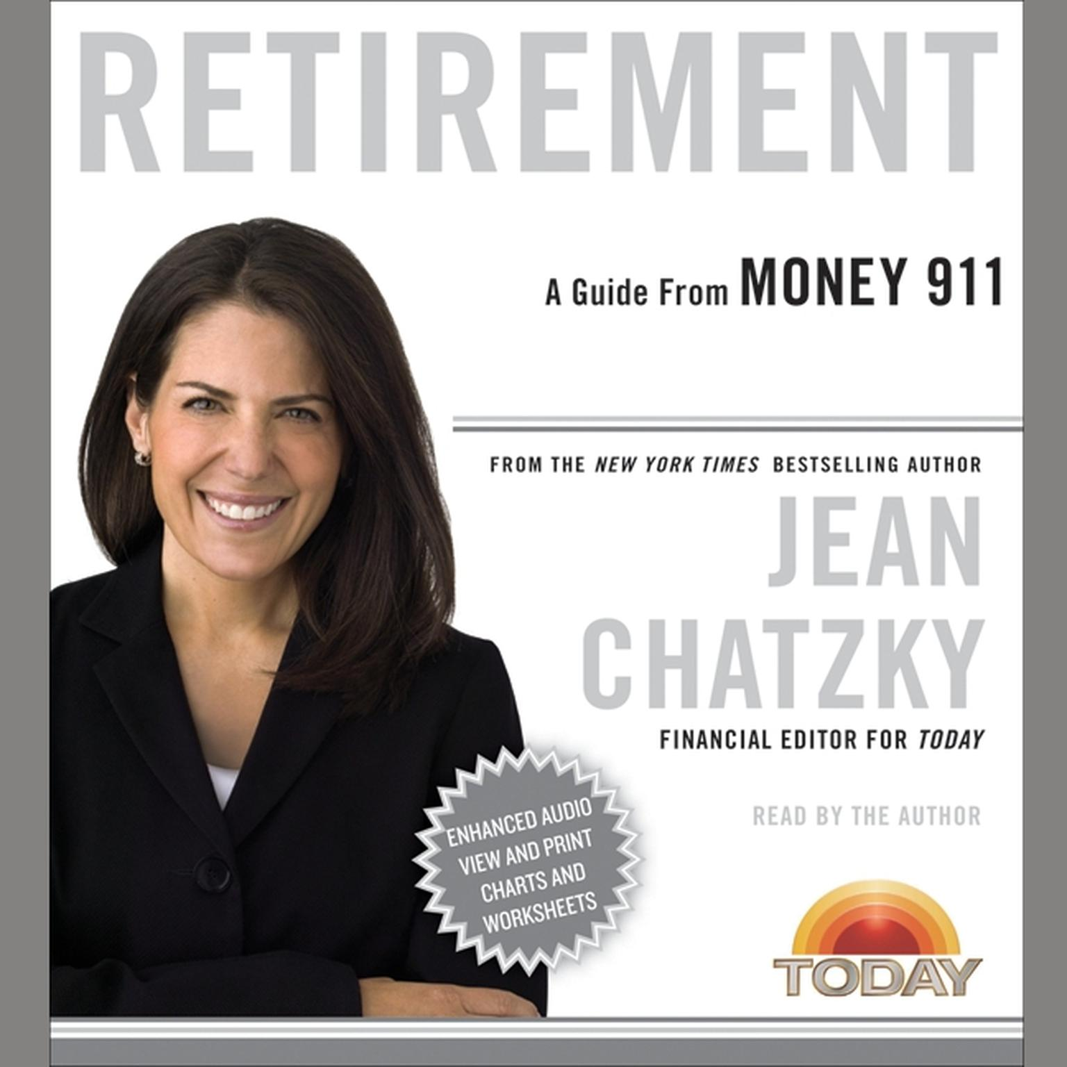 Printable Money 911: Retirement Audiobook Cover Art