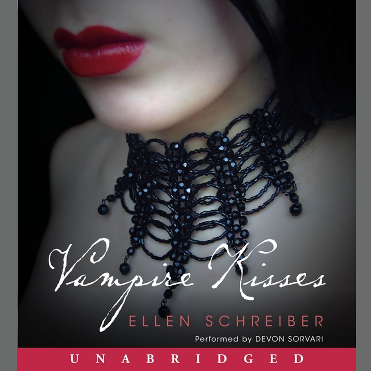 Printable Vampire Kisses Audiobook Cover Art