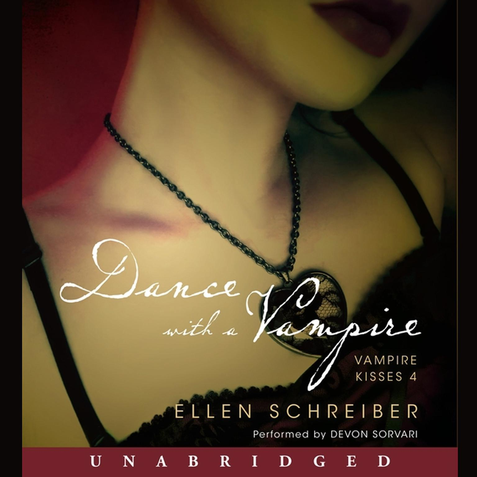 Printable Vampire Kisses 4: Dance with a Vampire Audiobook Cover Art