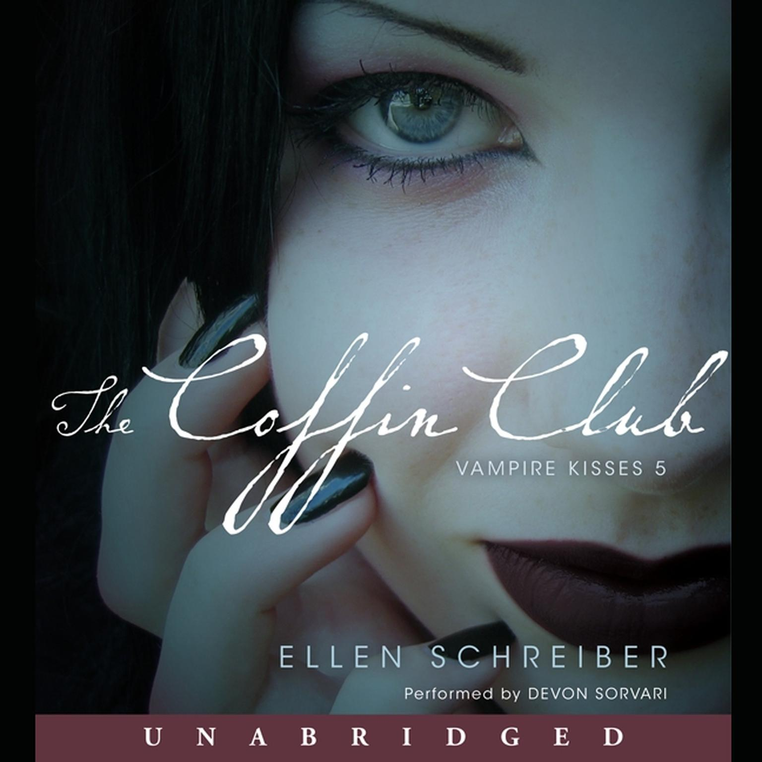 Printable The Coffin Club: Vampire Kisses 5 Audiobook Cover Art