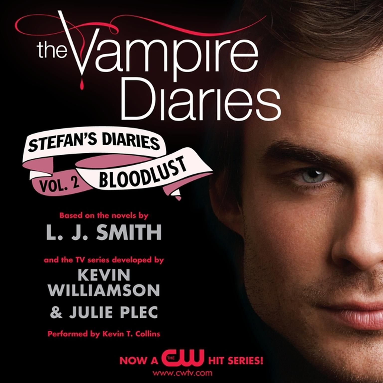 Printable The Vampire Diaries: Stefan's Diaries #2: Bloodlust Audiobook Cover Art