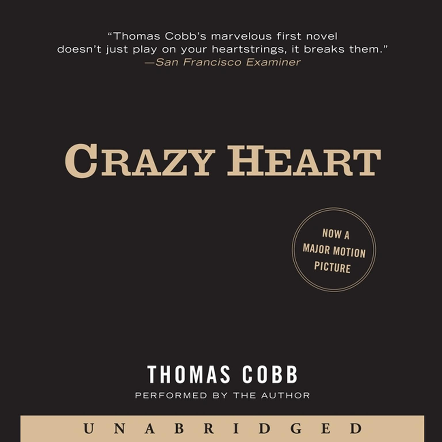 Printable Crazy Heart: A Novel Audiobook Cover Art