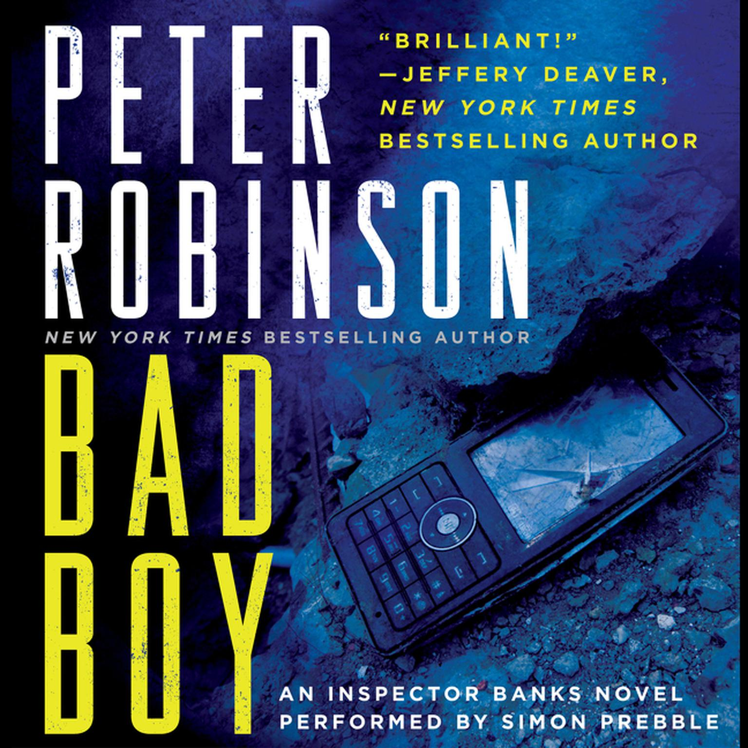 Printable Bad Boy: An Inspector Banks Novel Audiobook Cover Art
