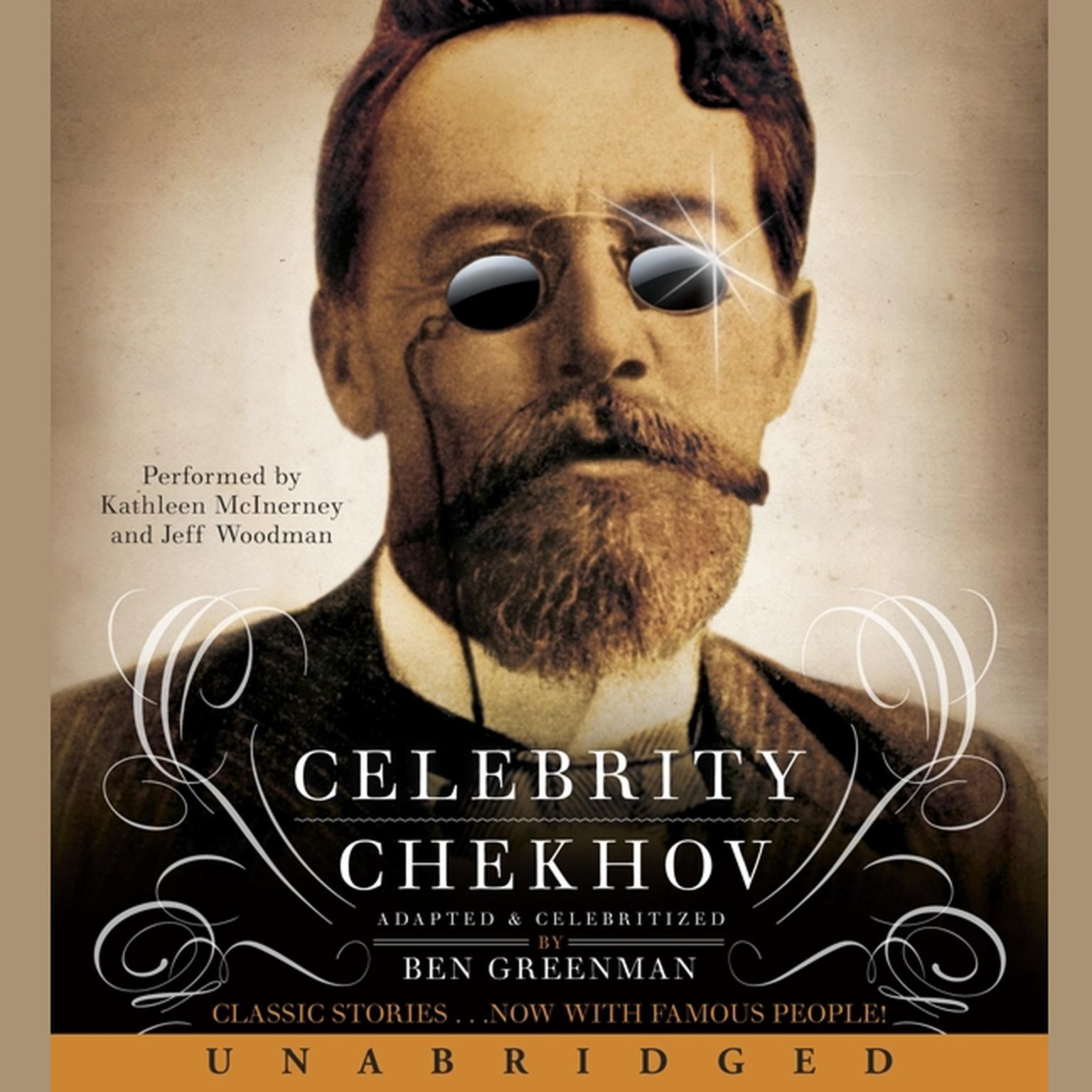 Printable Celebrity Chekhov Audiobook Cover Art