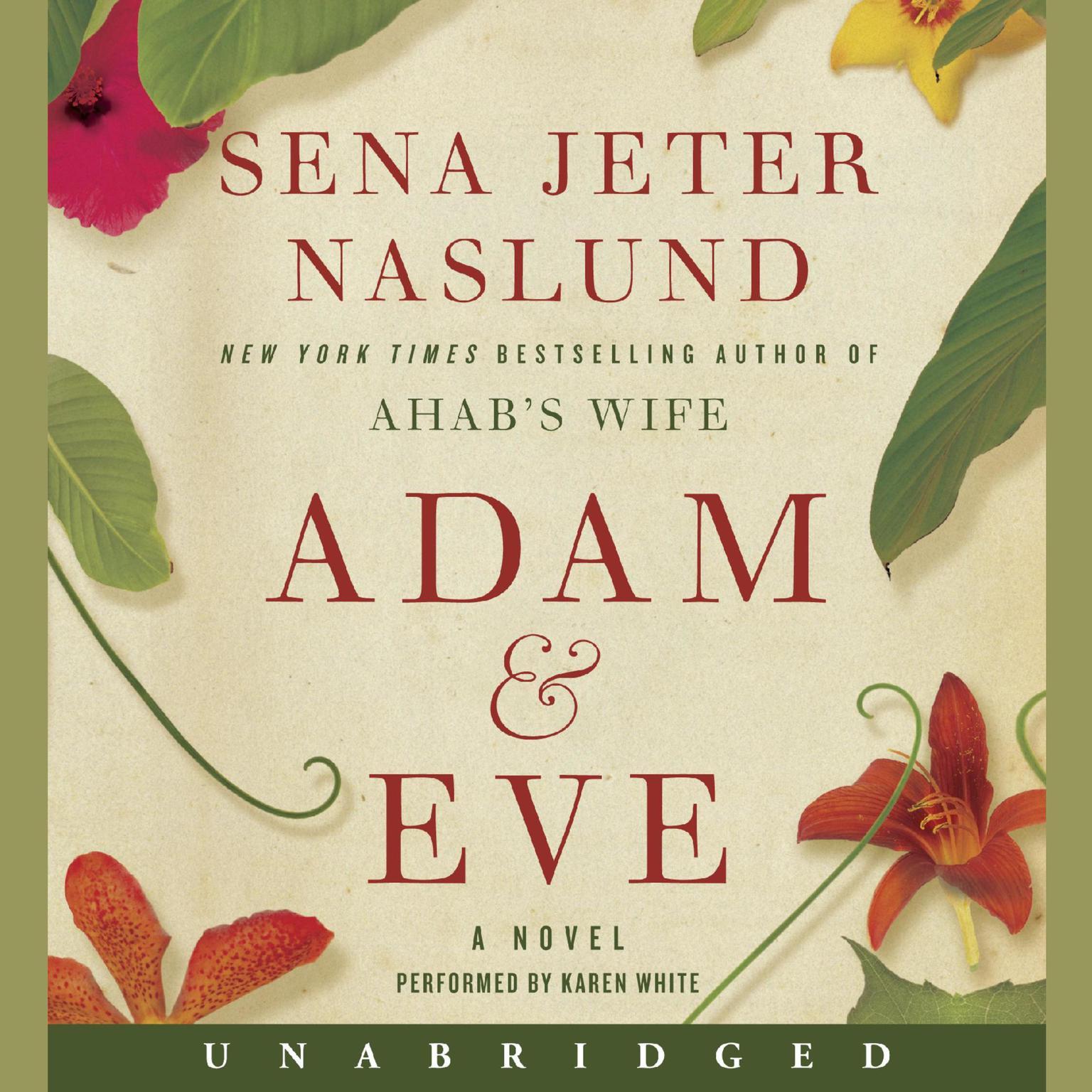 Printable Adam & Eve: A Novel Audiobook Cover Art