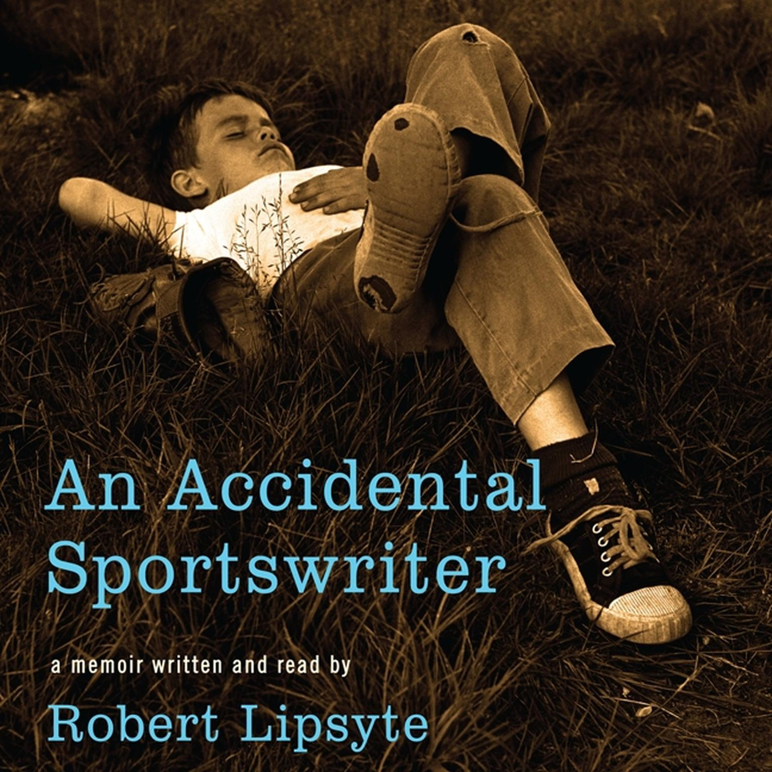 Printable An Accidental Sportswriter Audiobook Cover Art