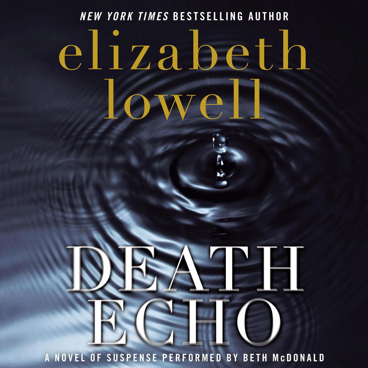 Printable Death Echo Audiobook Cover Art